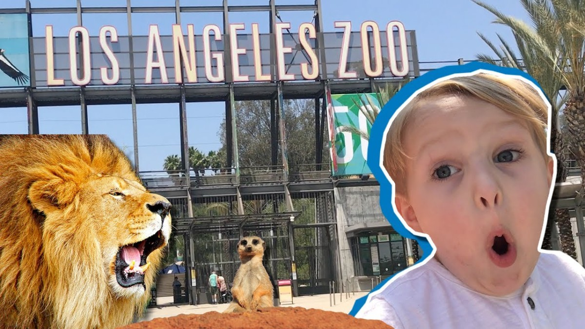 Our Fun, Family Trip to the Los Angeles Zoo!!!